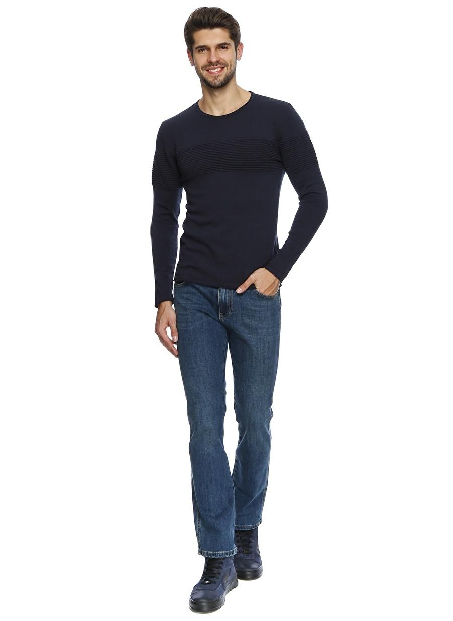 42-32 Renksiz Twister Jeans Kot Klasik Pantolon Erkek Giyim