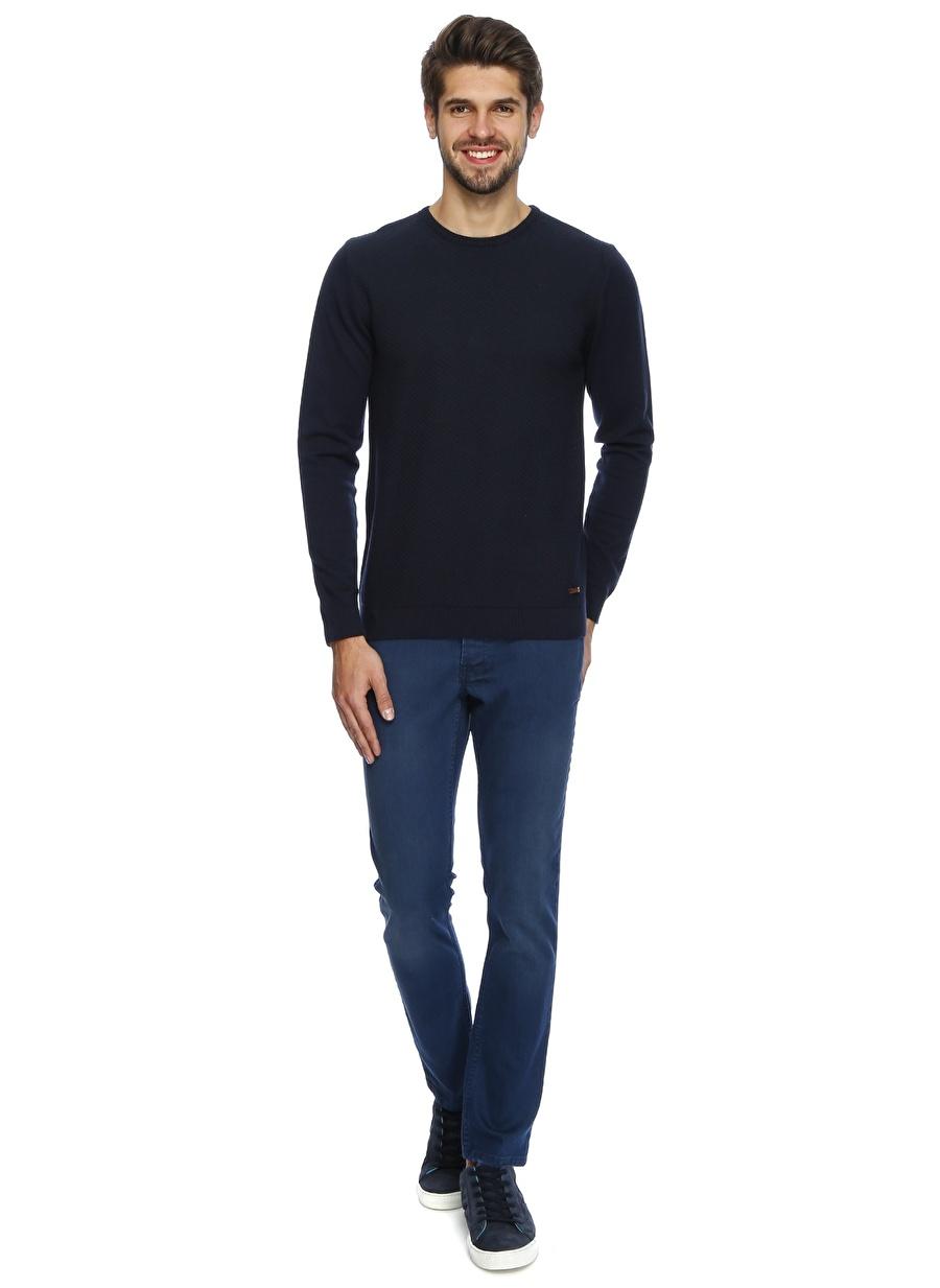 36-34 Renksiz Twister Jeans Denim Pantolon Erkek Giyim