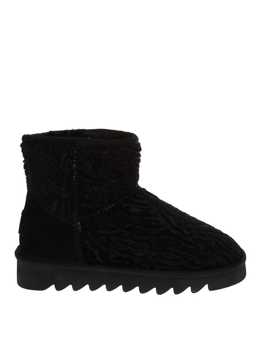 38 Siyah Colors Of California Kar Botu Ayakkabı Çanta Kadın Çizme