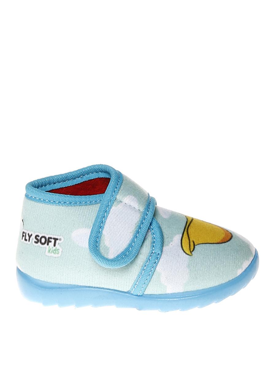 23 Mavi Limon Erkek Çocuk Evsı Ayakkabısı Pijama Giyim