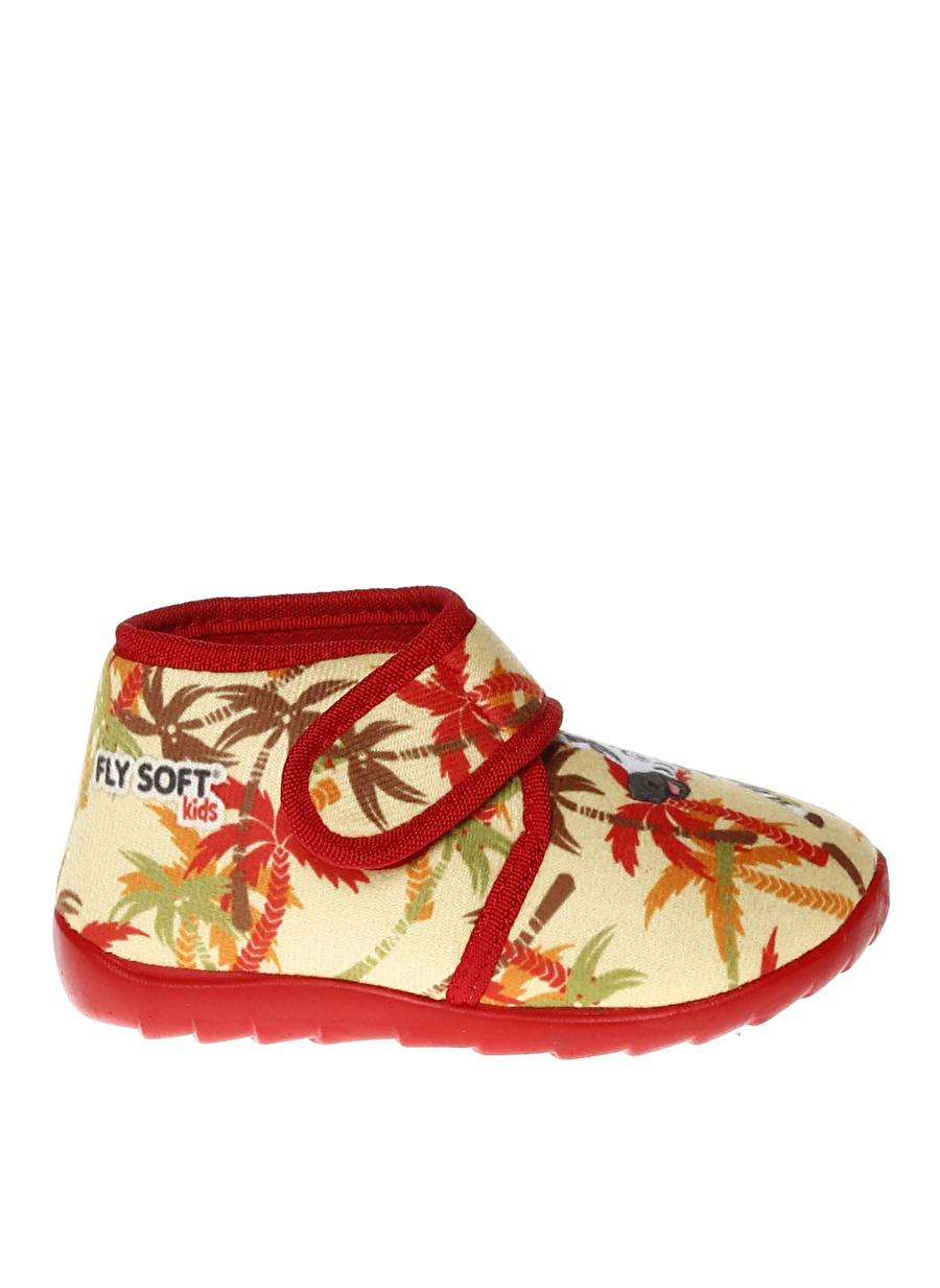 26 Erkek Sarı Limon Kız Çocuk Ev Ayakkabısı Pijama Giyim