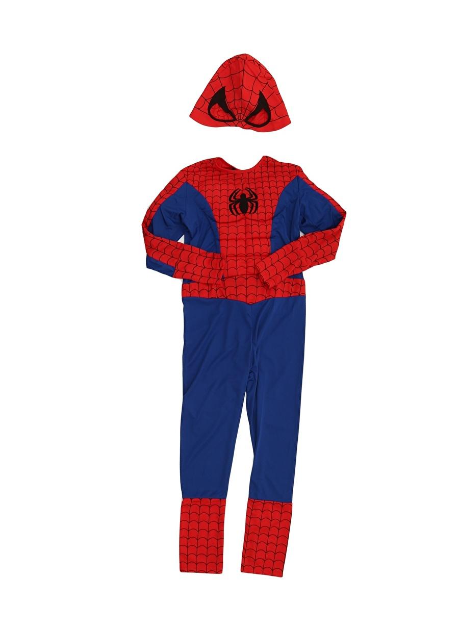 S unisex Renksiz Mega Oyuncak Spiderman Kostüm Çocuk