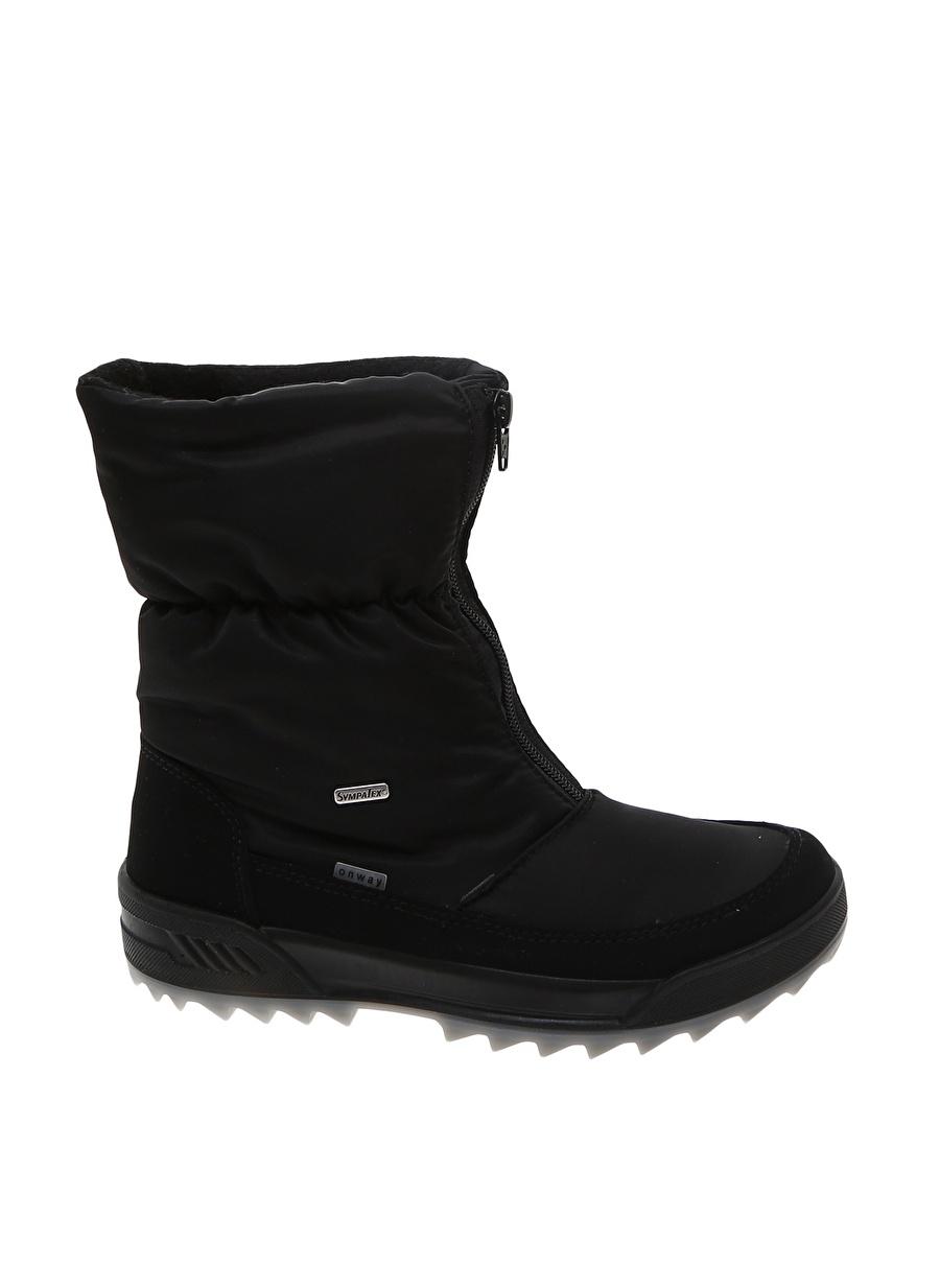 37 Siyah Skandia Kadın Kar Botu Ayakkabı Çanta Çizme