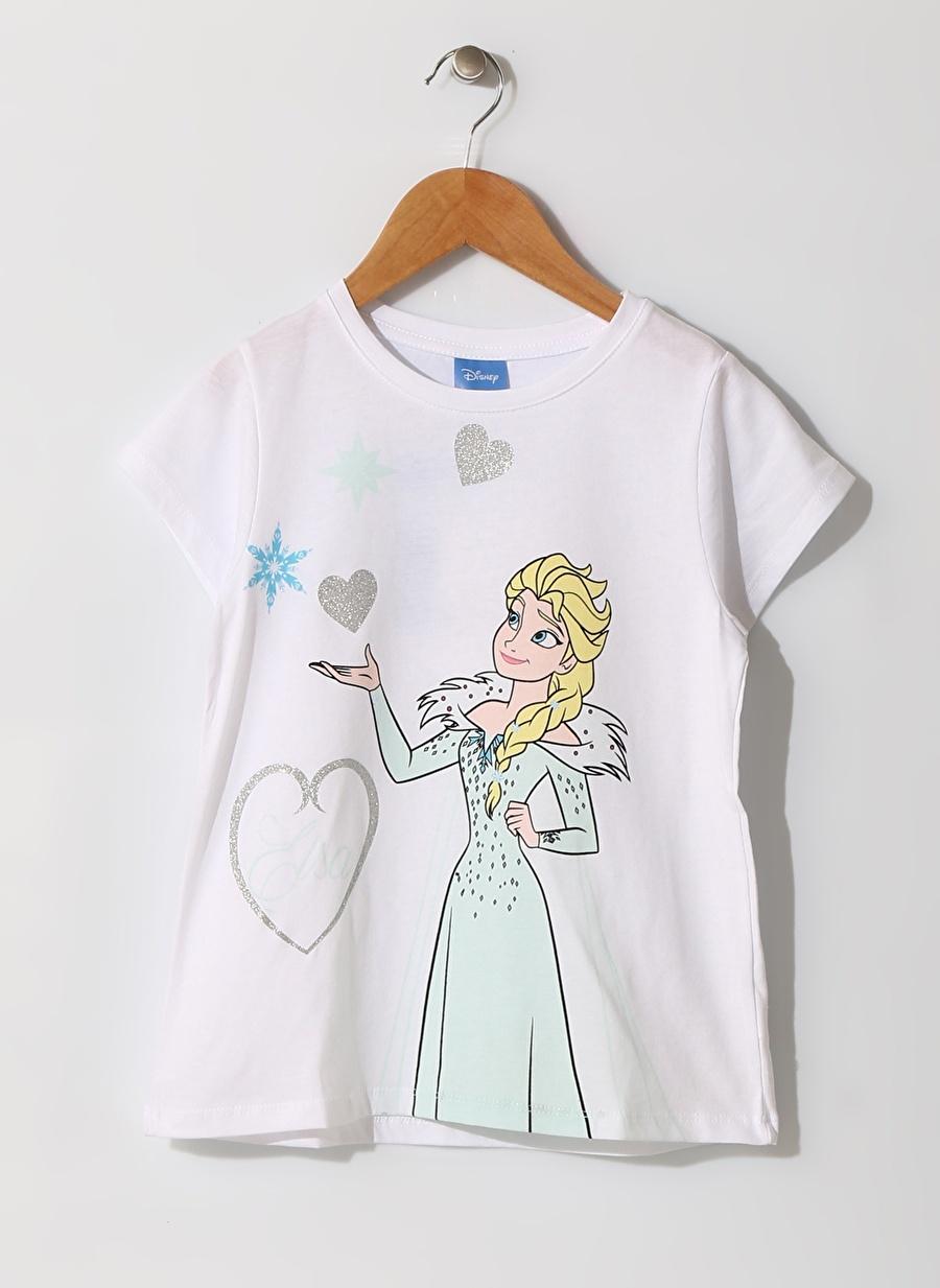 5 Yaş Kadın Su Yeşili Limon Kız Çocuk Karakter Baskılı Beyaz Pijama Takımı Ev İç Giyim