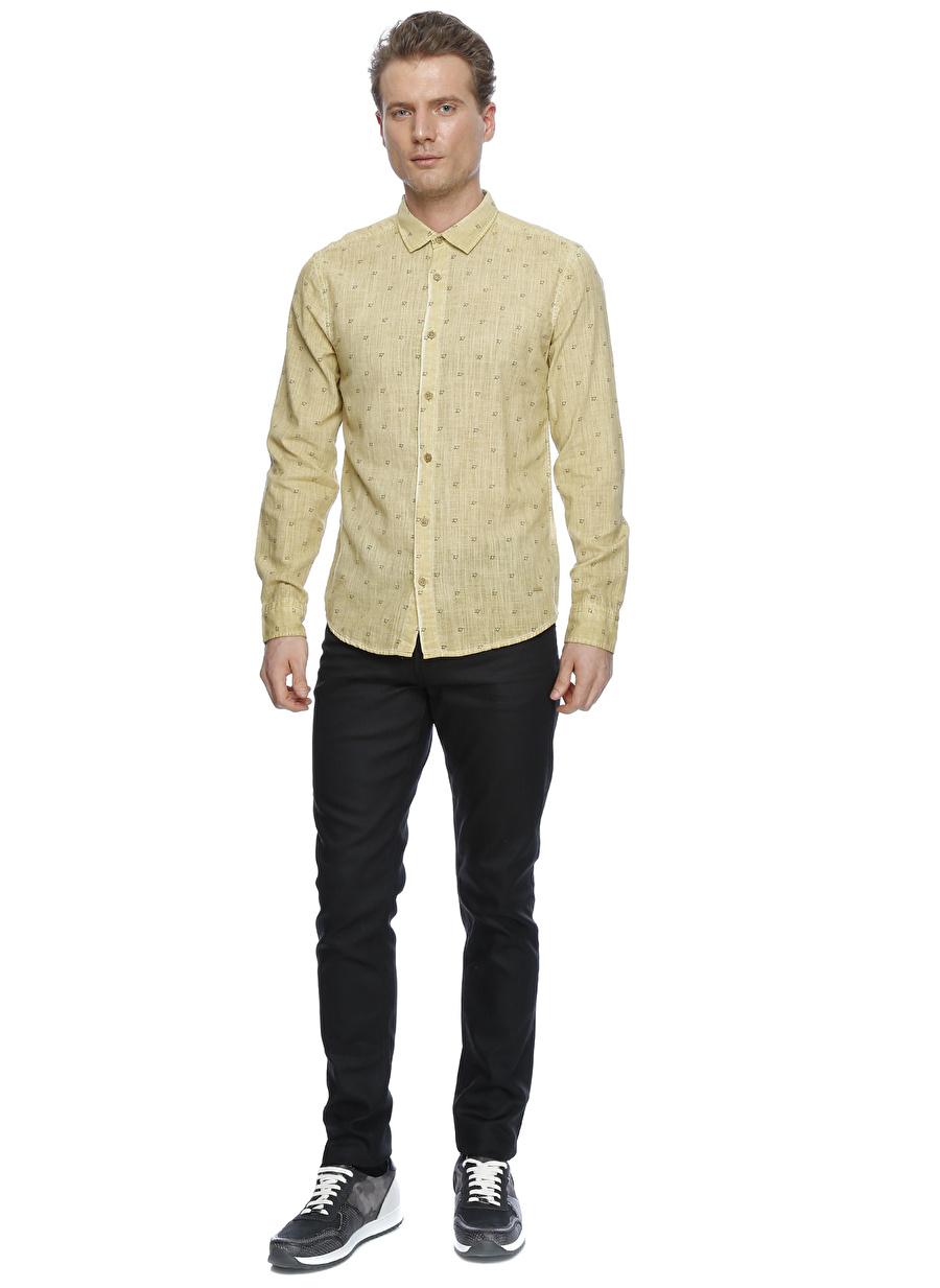 30-32 Renksiz Loft Slim Fit Klasik Pantolon Erkek Giyim Jean