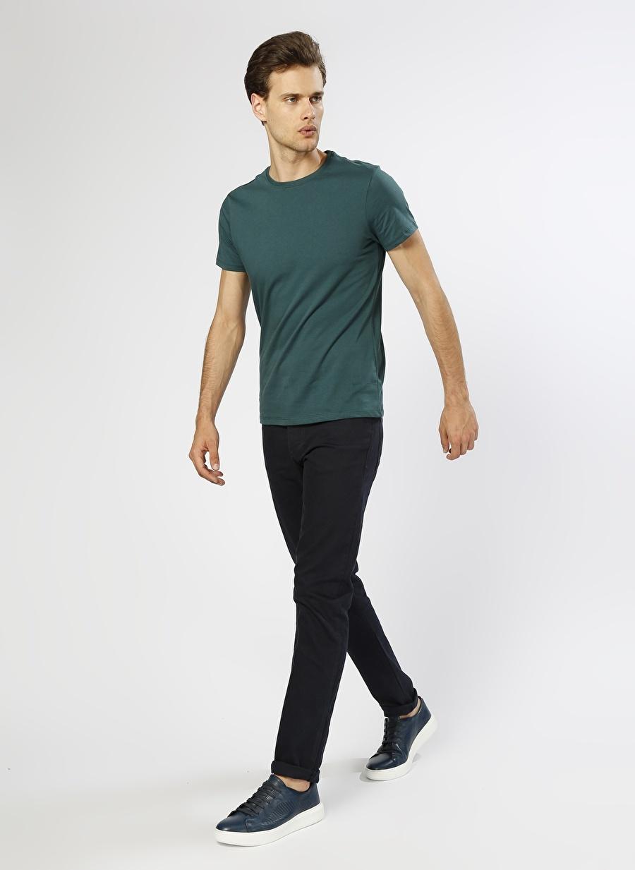 36-30 Renksiz Loft Lacivert Klasik Pantolon Erkek Giyim Jean Düşük Bel
