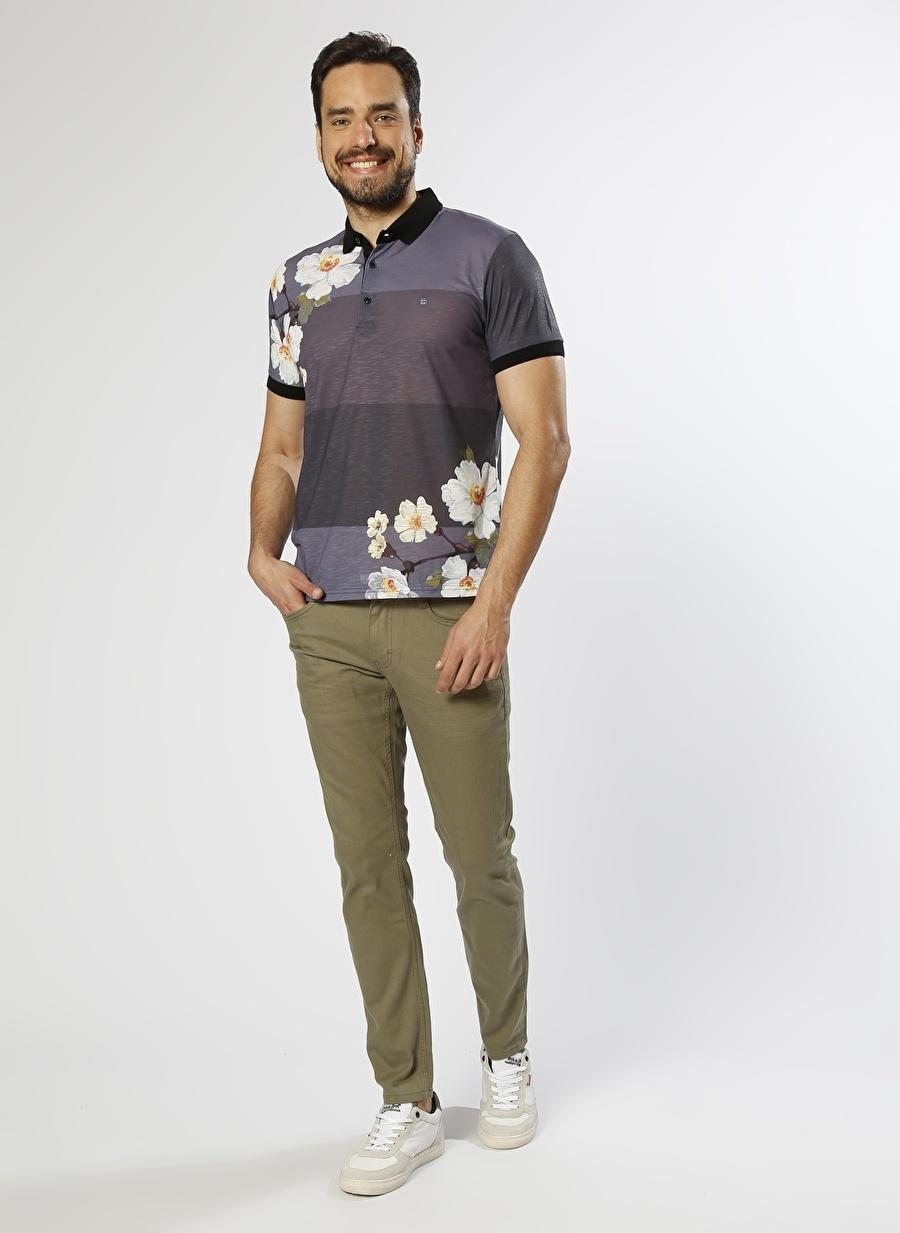 33-30 Yeşil Mustang Haki Klasik Pantolon Erkek Giyim Jean Düşük Bel