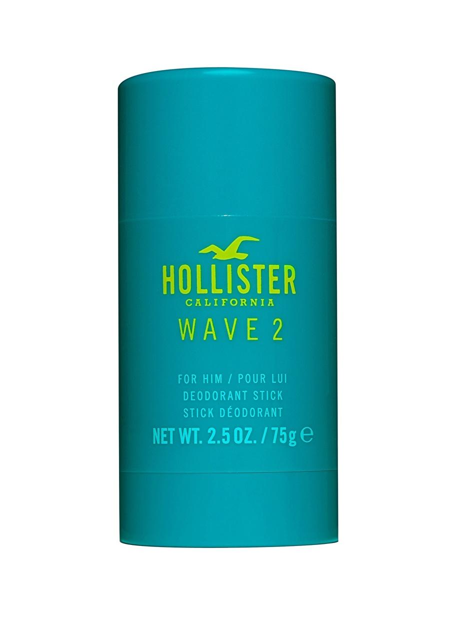 Standart Renksiz Hollister California Wave 2 Stick 75 g Erkek Deodorant Kozmetik Parfüm