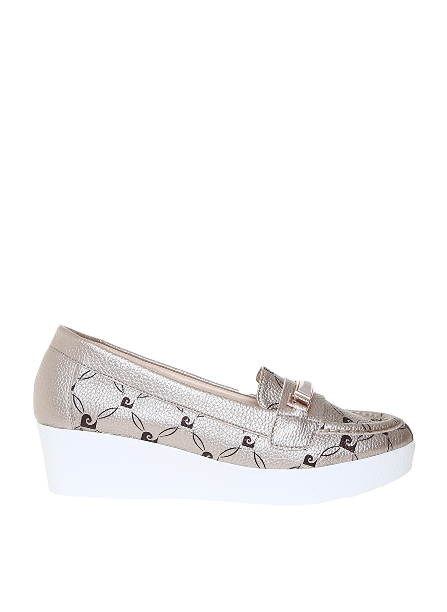 38 Vizon Pierre Cardin Kadın Topuklu Dolgu Tpklu Ayakkabi Ayakkabı Çanta