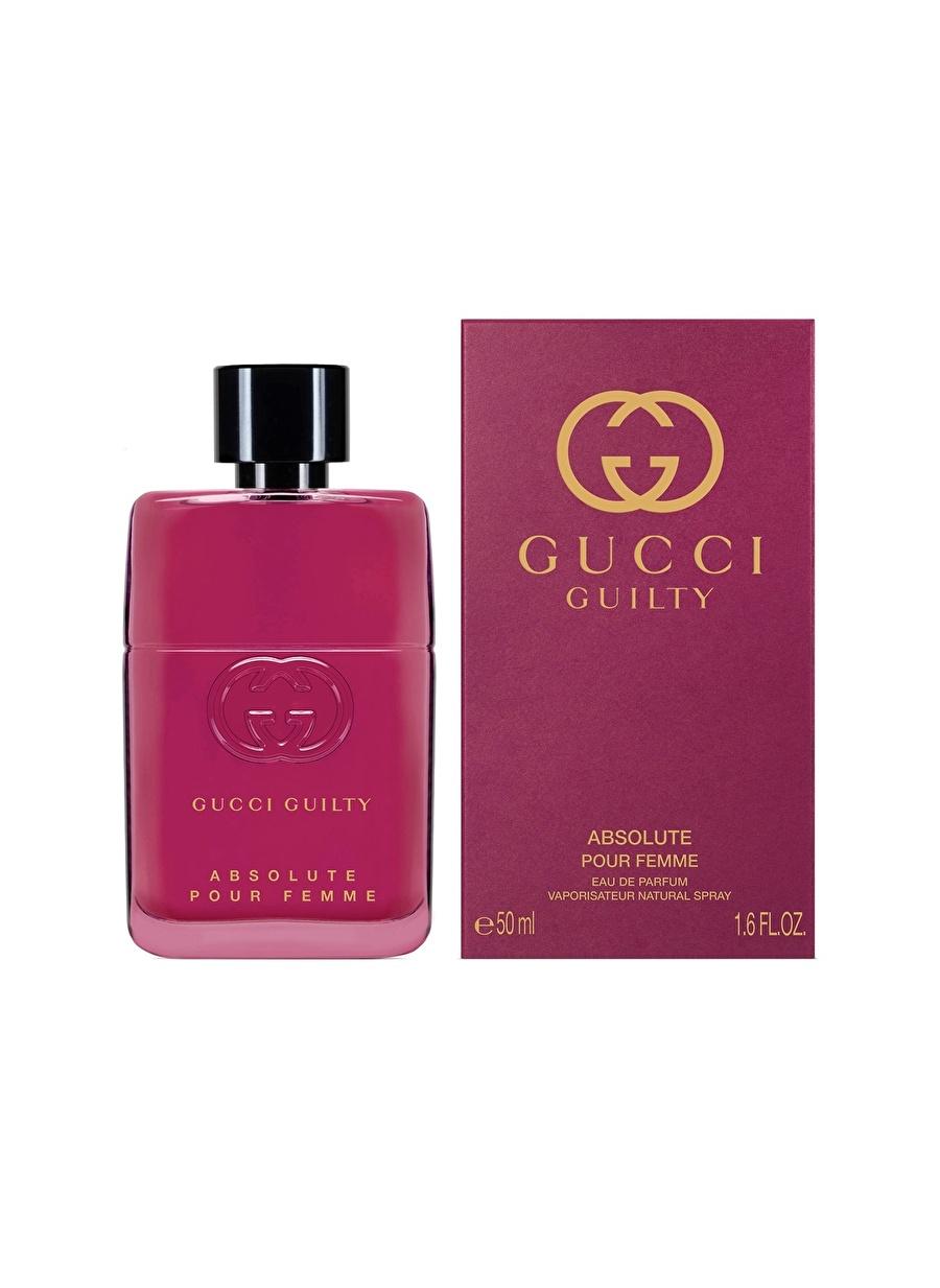Standart Renksiz Gucci Guilty Absolute Pour Femme Edp 50 ml Parfüm Kozmetik Kadın