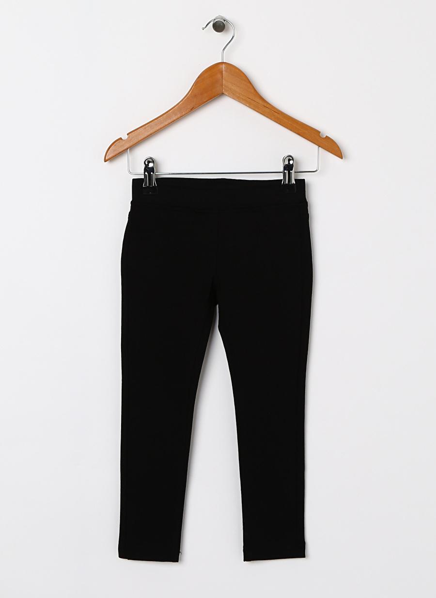 4 Yaş Erkek Siyah Benetton Pantolon Çocuk Giyim Tayt