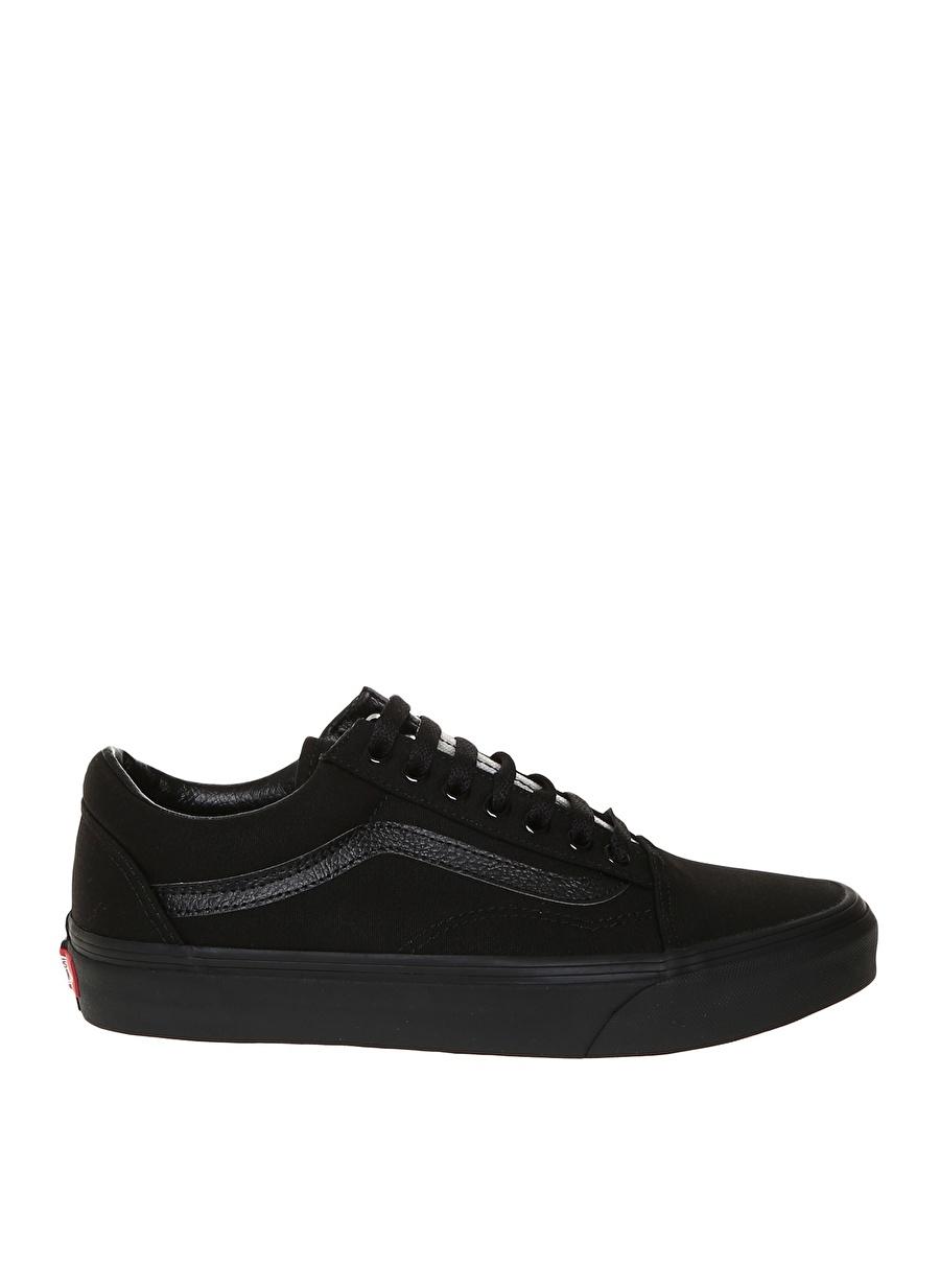 44.5 Siyah Vans VN000D3HBKA1 Old Skool Lifestyle Ayakkabı Spor Kadın Sneakers