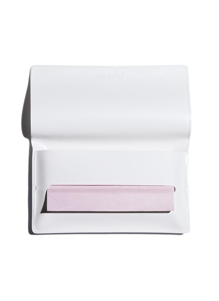Standart Kadın Renksiz Shiseido Sgs Oıl-Control Lottıng Paper Kapatıcı Kozmetik Makyaj Yüz Makyajı