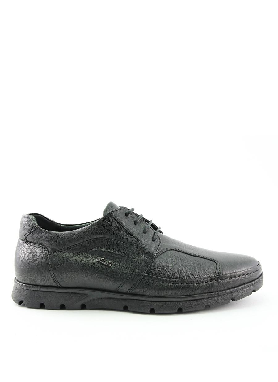 45 Siyah Forelli Günlük Ayakkabı Çanta Erkek