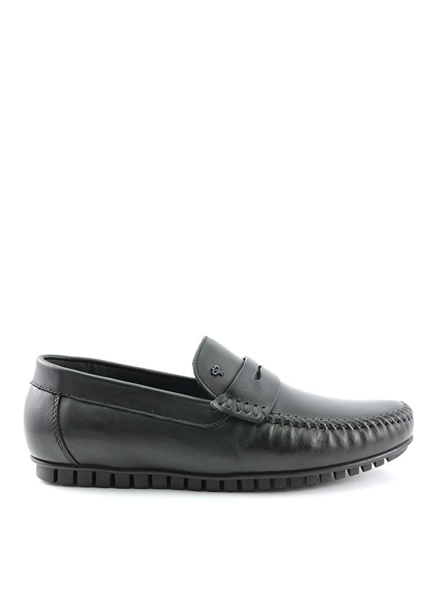 42 Siyah Forelli Günlük Ayakkabı Çanta Erkek