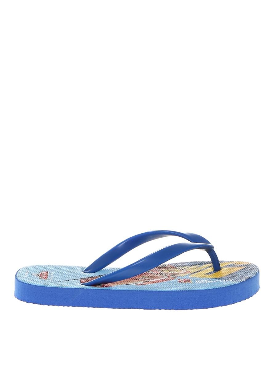 31 Erkek Mavi Gigi Çocuk Plaj Terliği Ayakkabı Çanta Ayakkabıları Terlik Sandaletler