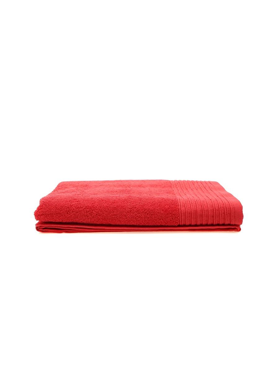 Standart unisex Renksiz Sarev 90x150 cm Kırmızı Havlu Ev Tüm Ürünleri