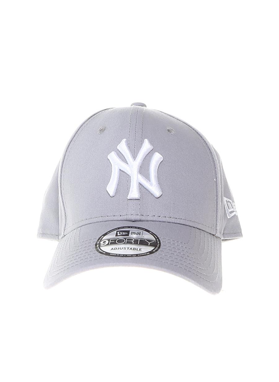 Standart Erkek Gri New Era Şapka Spor Aksesuarları