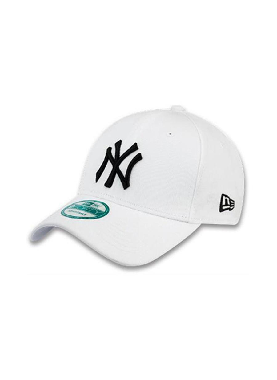 Standart Erkek Beyaz New Era Şapka Spor Aksesuarları