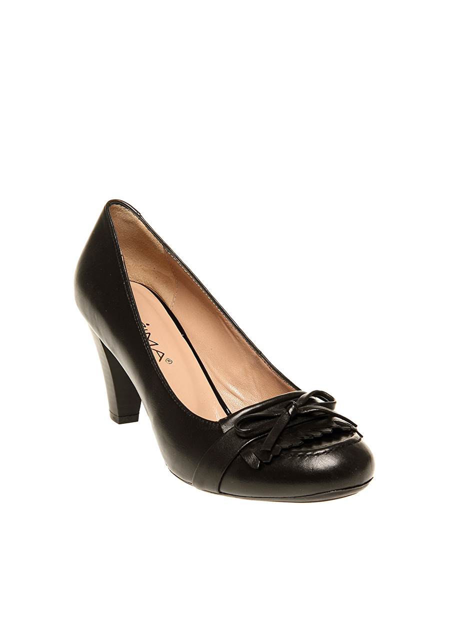 40 Siyah Prima Düz Ayakkabı Çanta Kadın