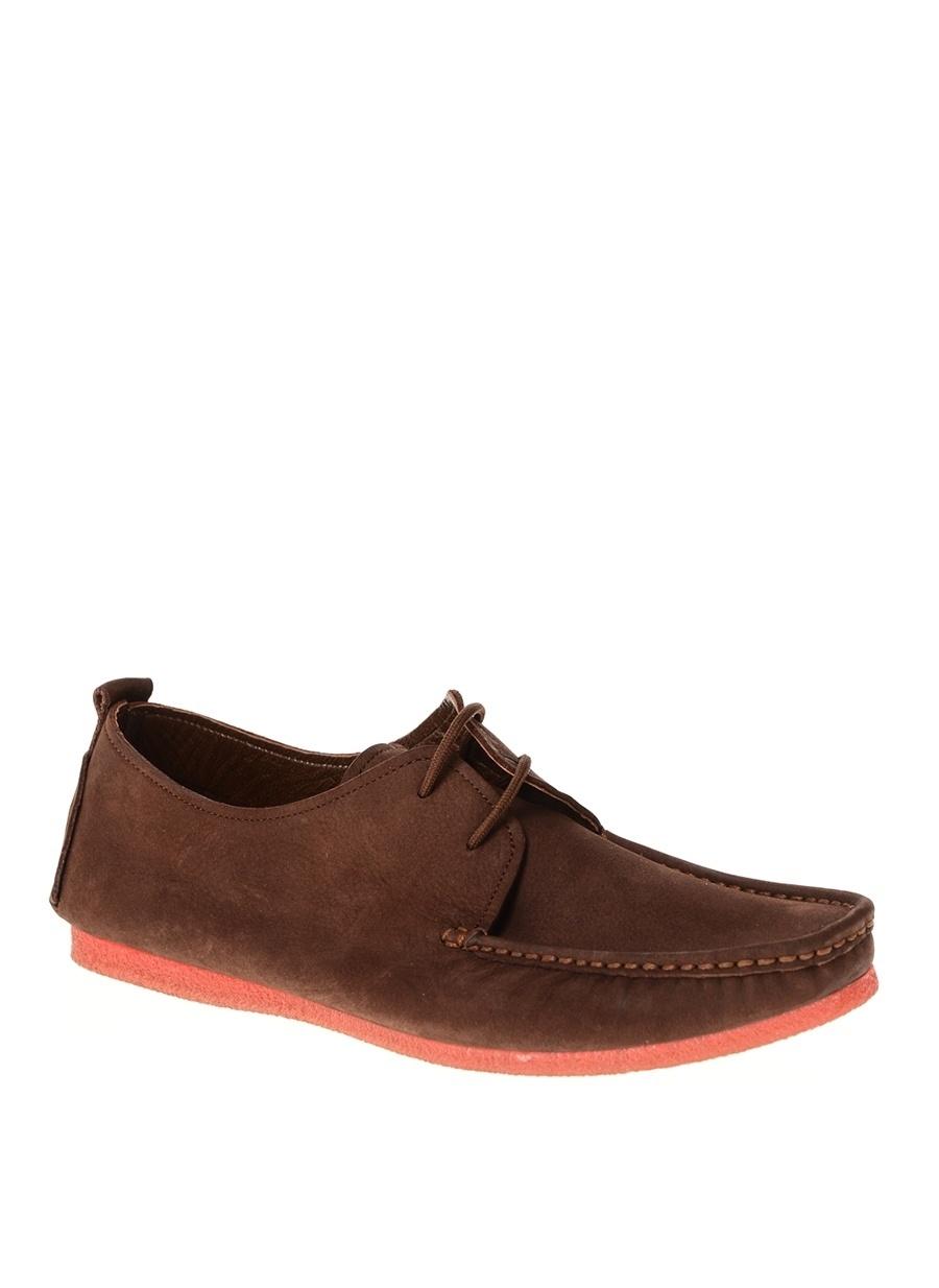 43 Kahve New Vision Erkek Ayakkabı Çanta Günlük