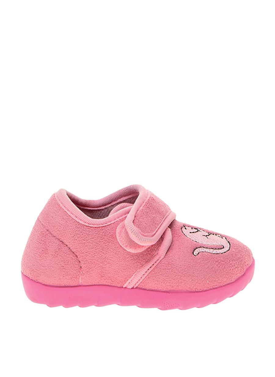 24 Kadın Pembe Limon Ev Ayakkabısı Çocuk İç Giyim Panduf Terliği