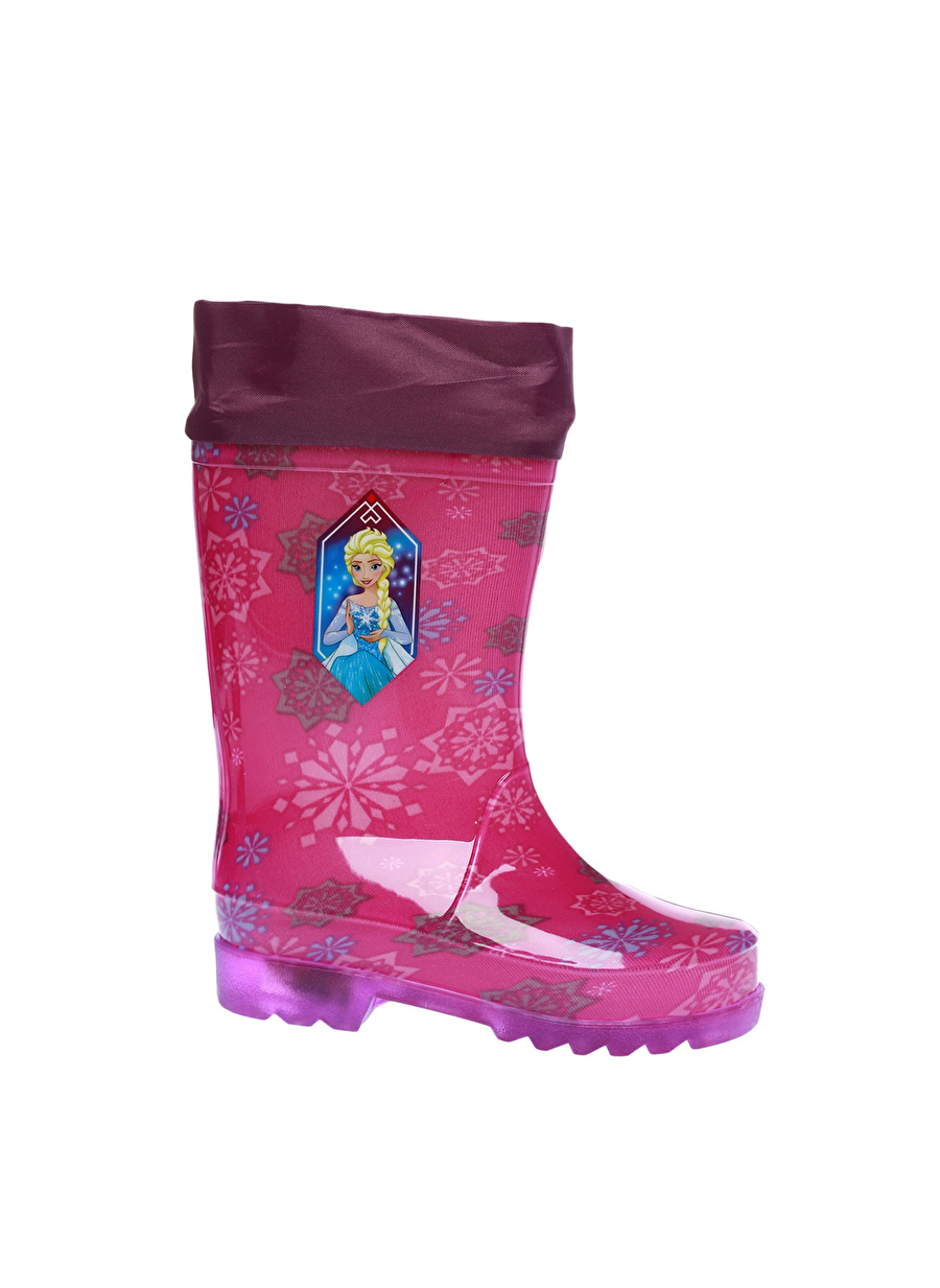 22 Kadın Mor Pinkstep Frozen Çizme Çocuk Ayakkabı Bot