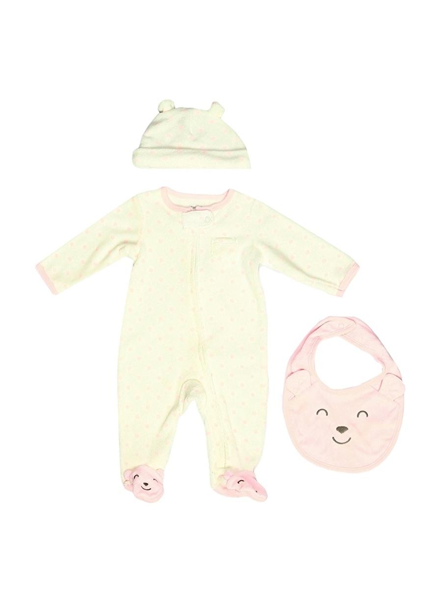 9 Ay unisex Pembe Carters Bebek Uyku Seti Çocuk Araç Gereçleri Çarşaf Havlu Kılıfı