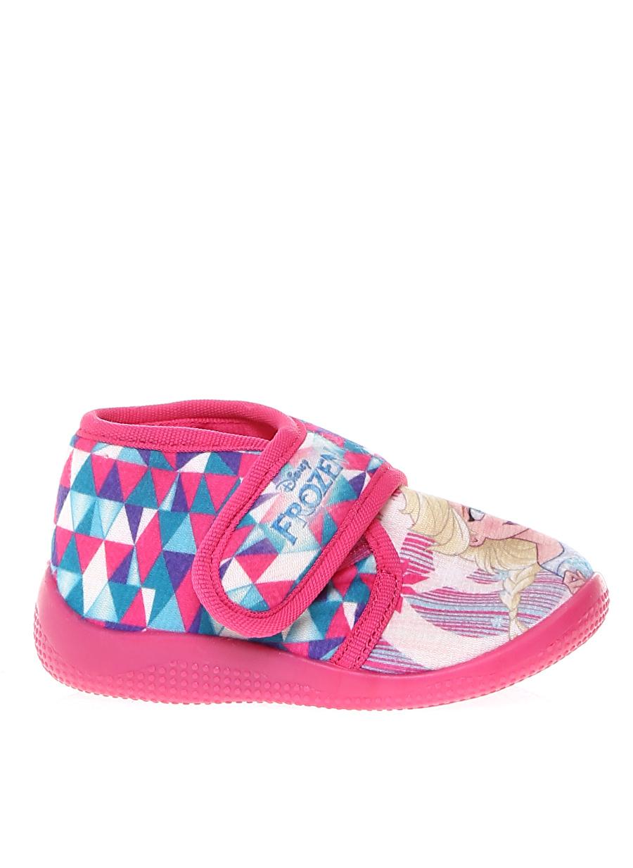 23 Kadın Pembe Gigi Karakter Baskılı Ev Ayakkabısı Çocuk Plaj Giyim