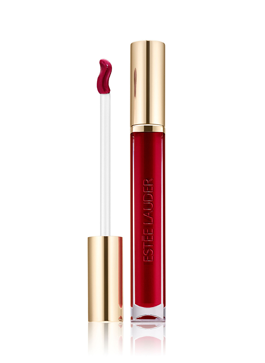Standart Kadın Renksiz Estee Lauder Pure Color Love Shine Liquid Lip 301 Burning Kiss Ruj Cosmetics