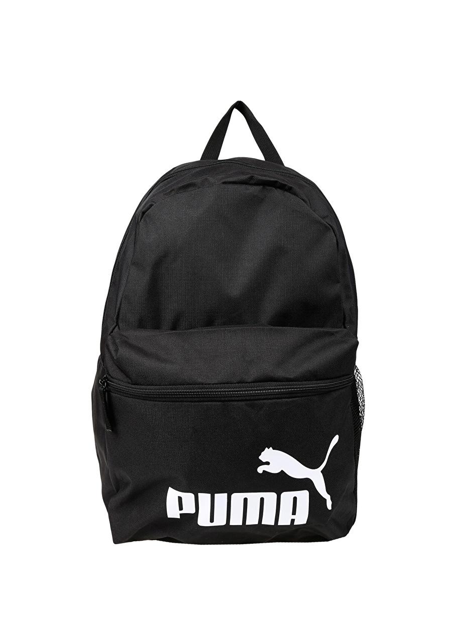 Standart unisex Siyah Puma Phase Backpack Sırt Çantası Ayakkabı Erkek