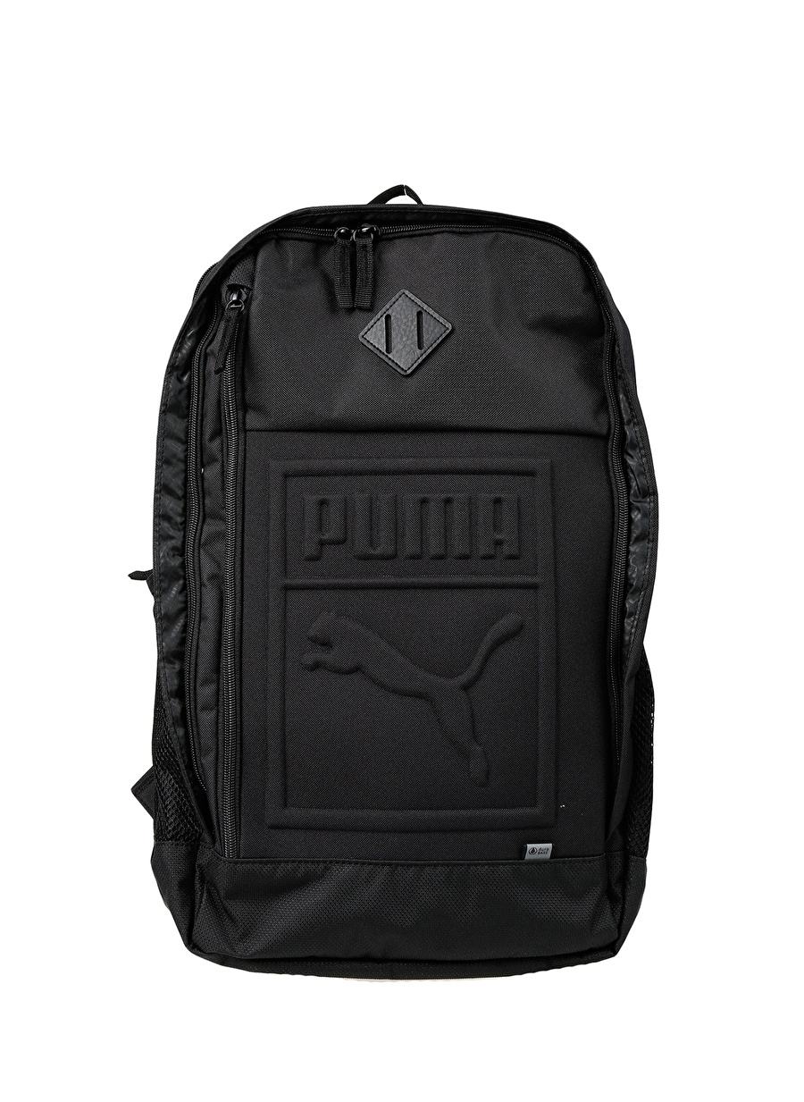 Standart unisex Siyah Puma Backpack Sırt Çantası Ayakkabı Erkek