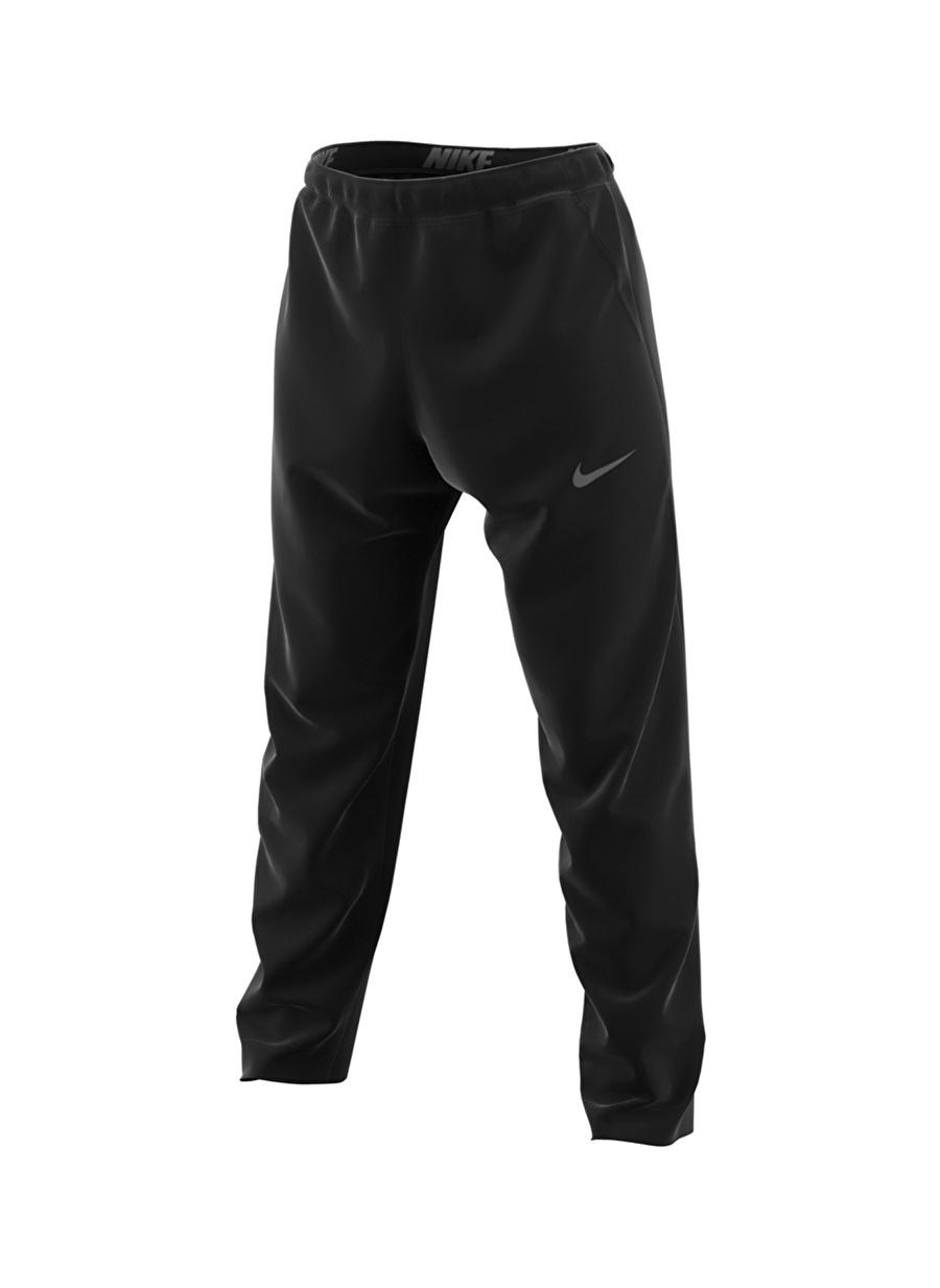 XL Siyah - Gri Gümüş Nike Therma Erkek Antrenman Eşofman Altı Spor Giyim Tayt