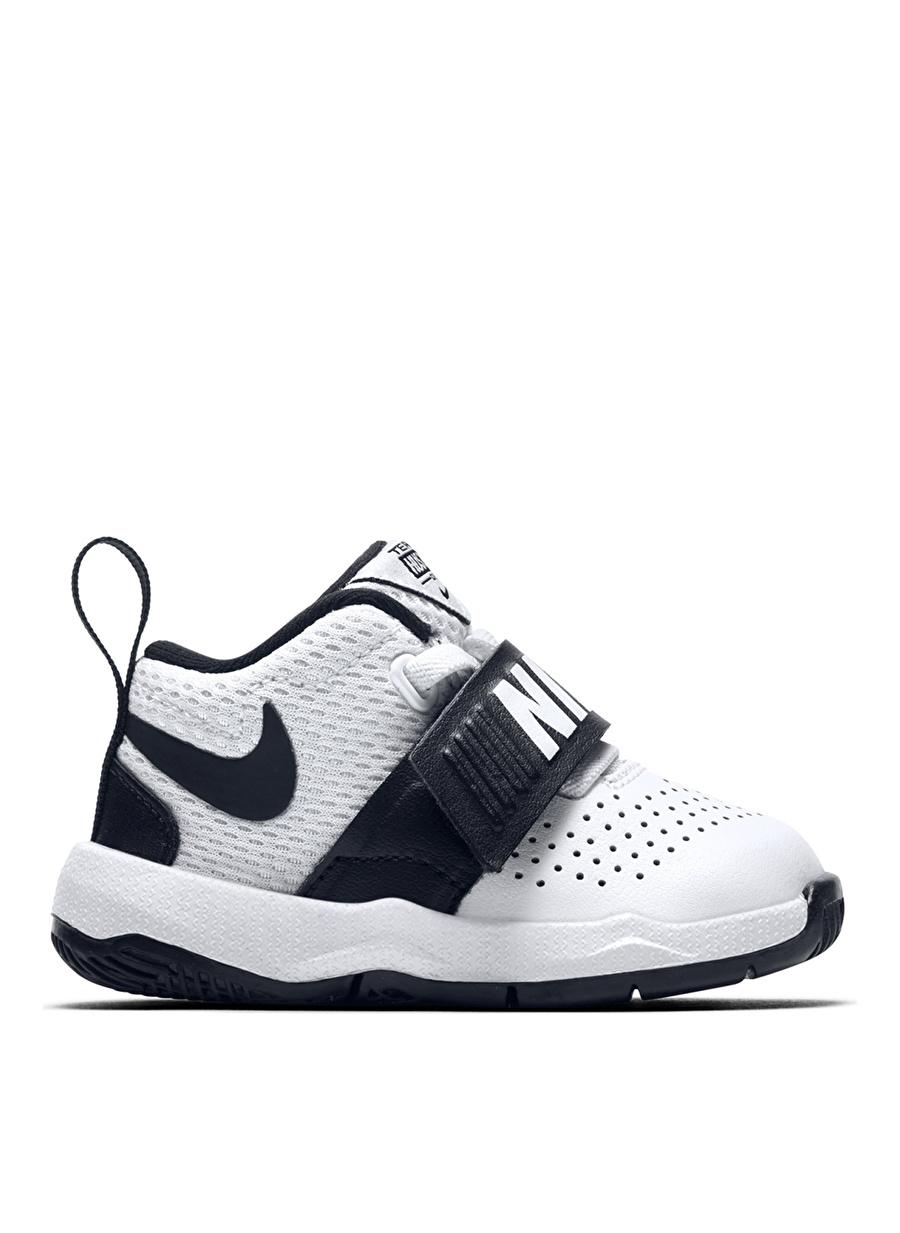 21 Erkek Beyaz Nike Team Hustle D 8 (Td) Basketbol Ayakkabısı Çocuk