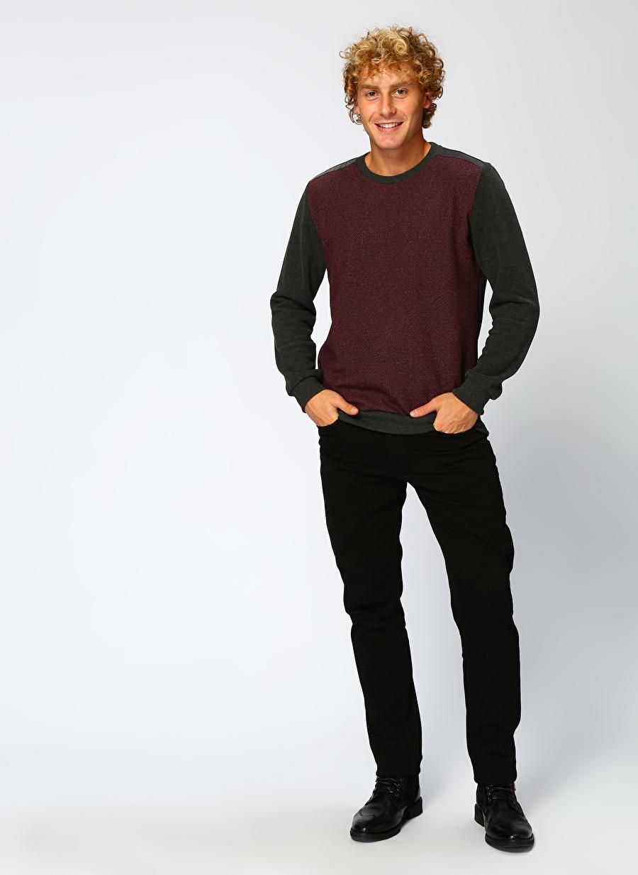 XL Şarap Lee Cooper Sweatshirt Spor Erkek Giyim