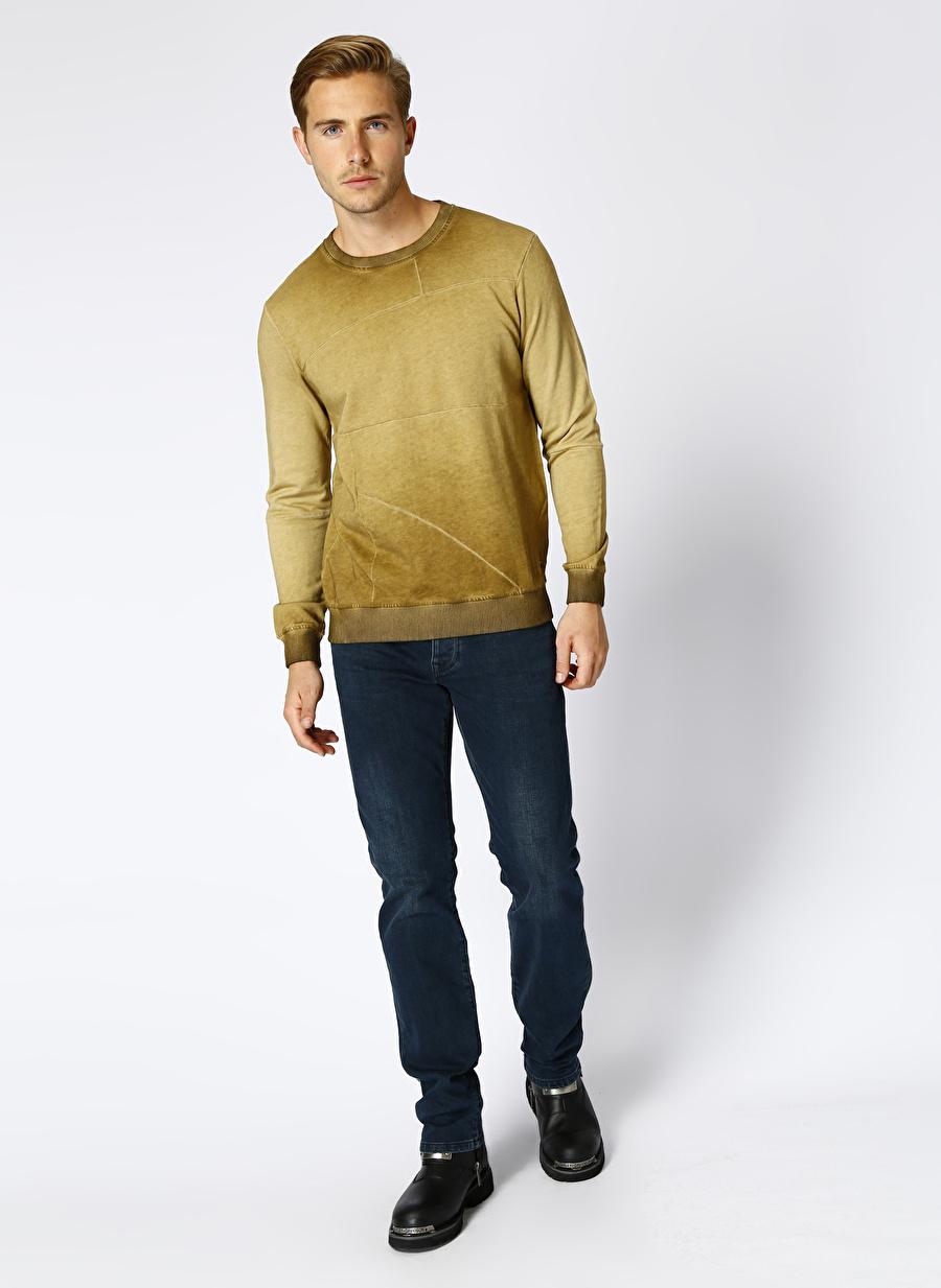 38-32 Erkek Renksiz Loft Regular Fit İndigo Klasik Pantolon Bottoms Active Streetwear Denim