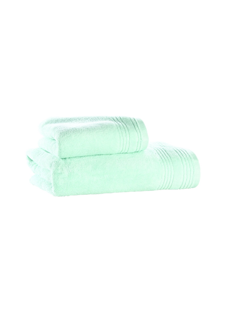 Standart unisex Renksiz Sarev 50x90 cm Mavi Havlu Ev Banyo Ürünleri Bornoz