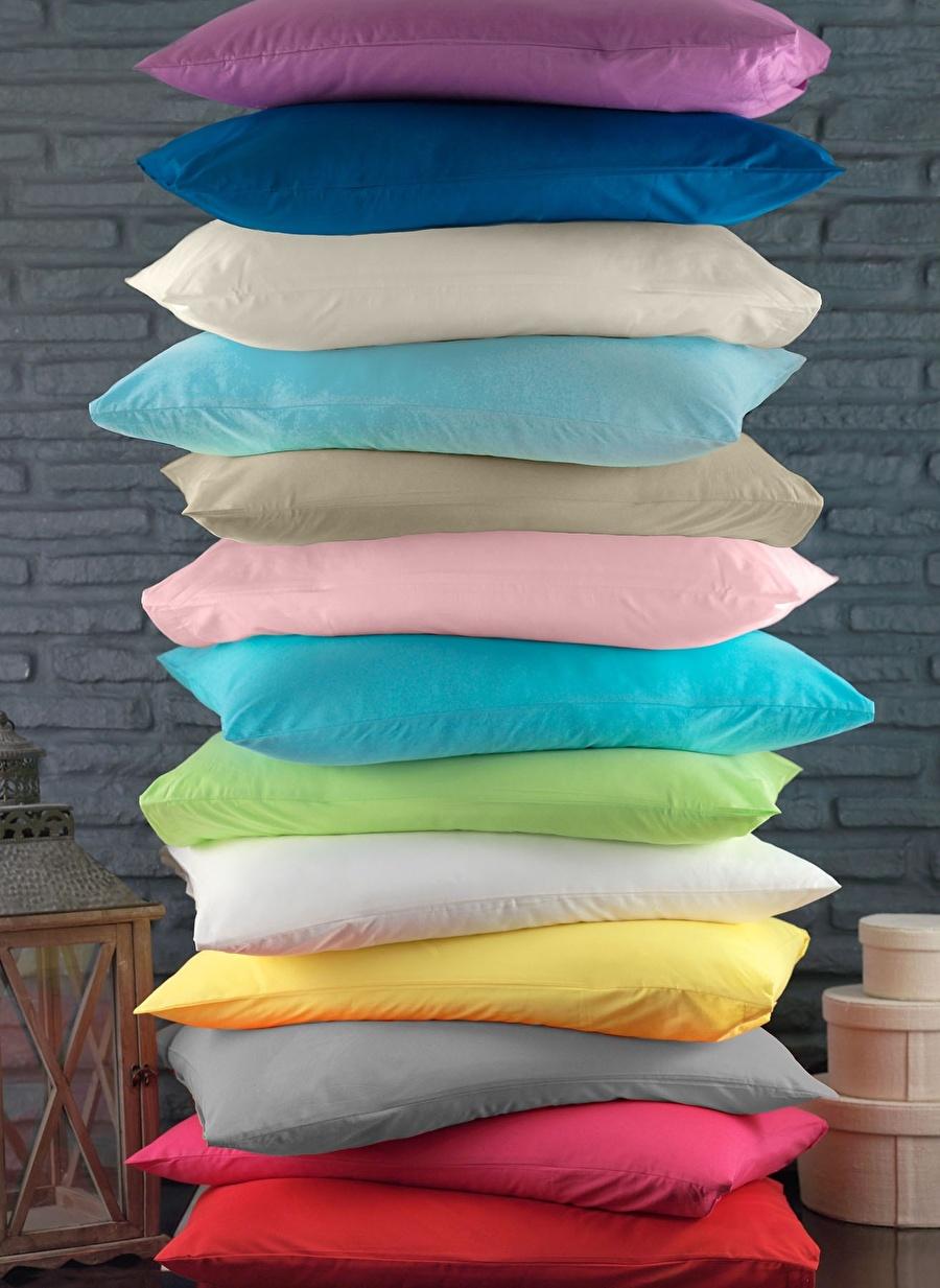 Standart unisex Renksiz Sarev Ranforce Lacivert Fıtted Çarşaf Ev Tekstili Nevresim Takımı