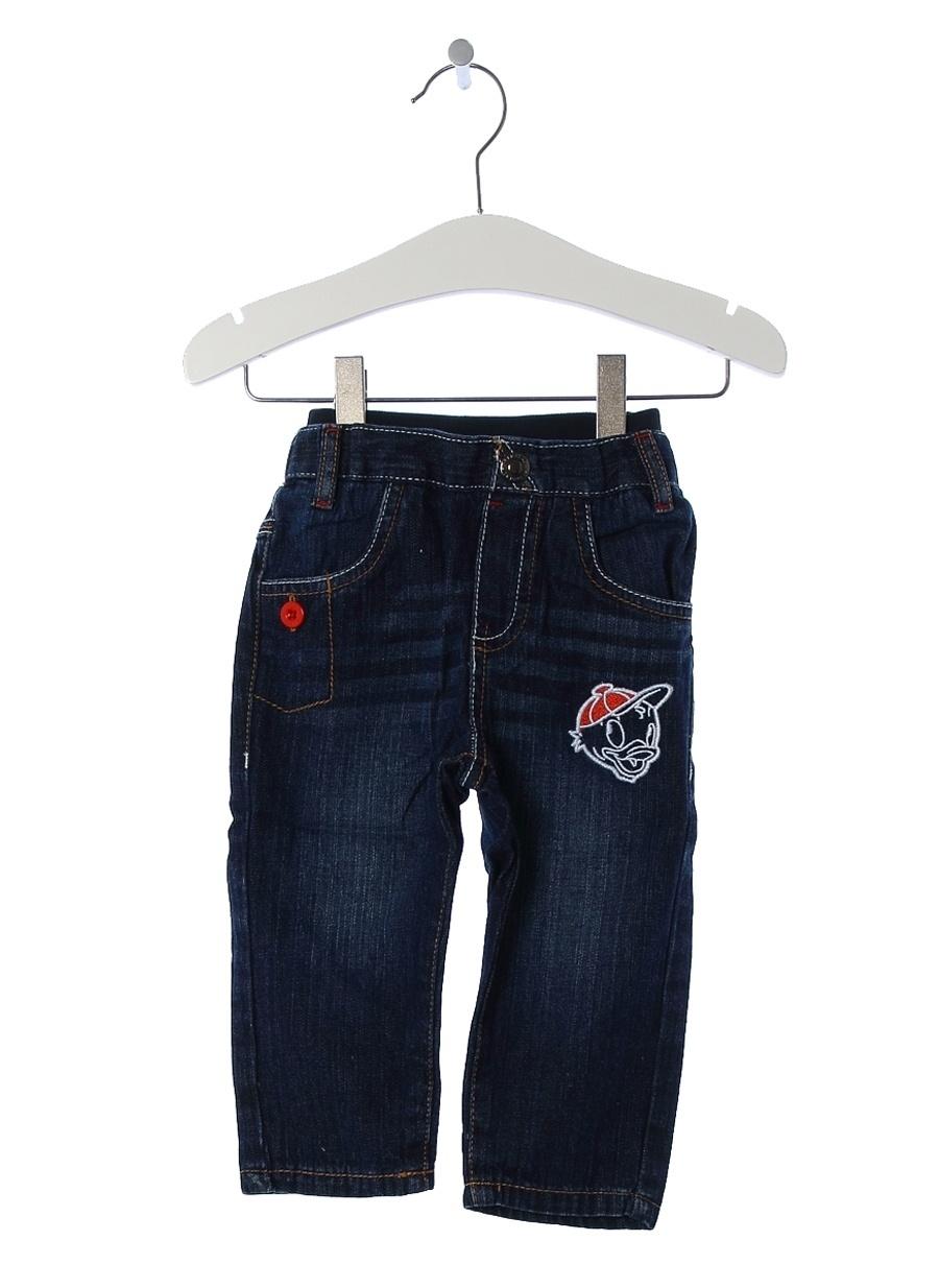 Standart Erkek Mavi Prenatal Pantolon Çocuk Bebek Giyim