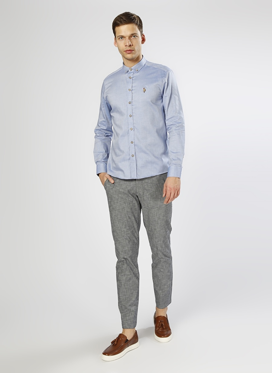 Standart Erkek Koyu Lacivert Dockers Slim Tapered Klasik Pantolon Bottoms Mens