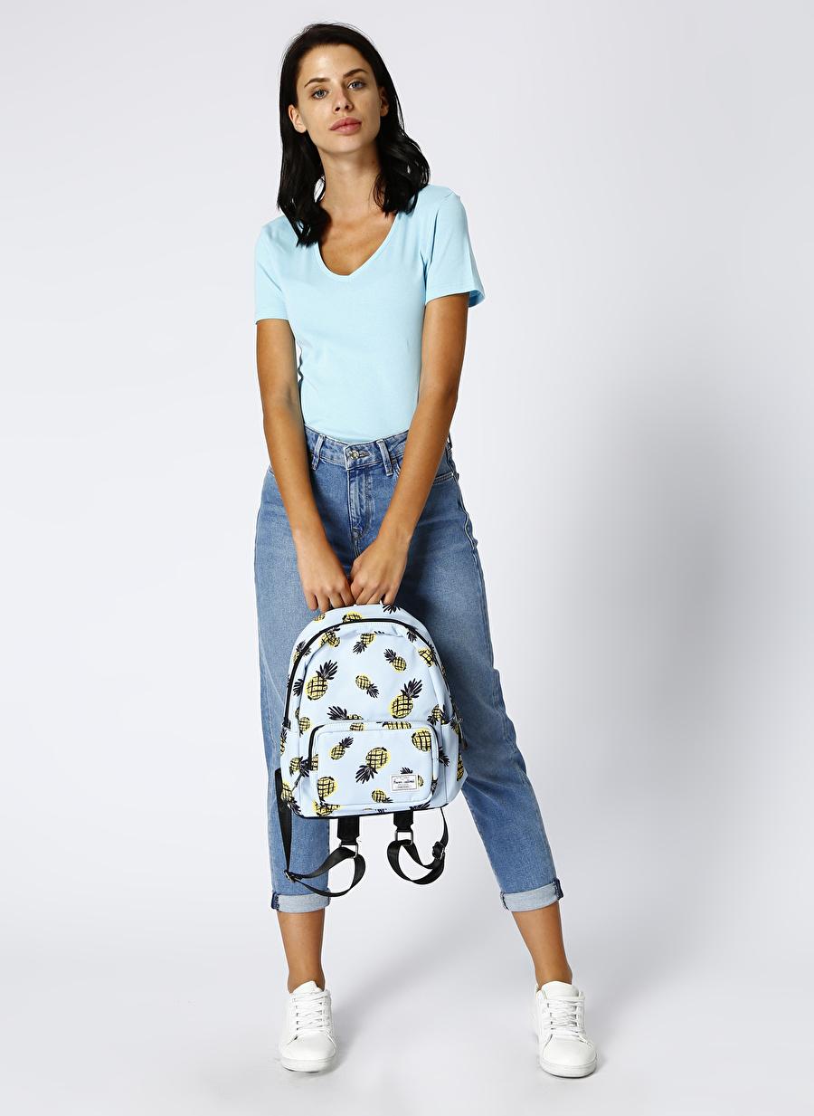 29-27 Renksiz Mavi Cindy Indigo 90\'s Denim Pantolon Kadın Giyim Jean Regular