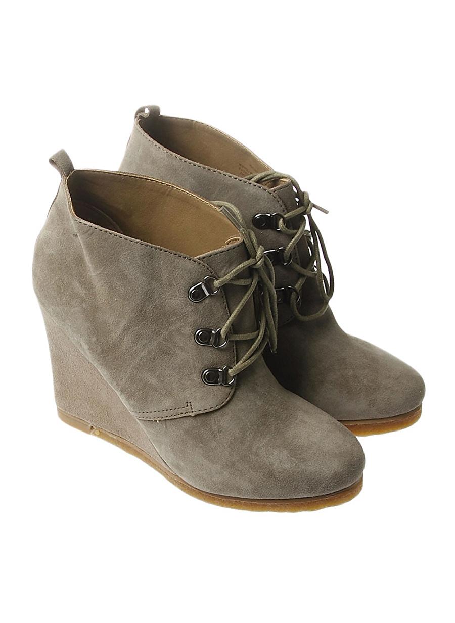 38.5 Taba Steve Madden Bot Ayakkabı Çanta Kadın Çizme