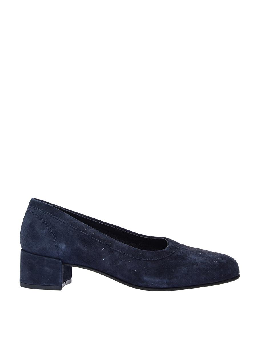 37 Koyu Lacivert Pavement Düz Ayakkabı Çanta Kadın