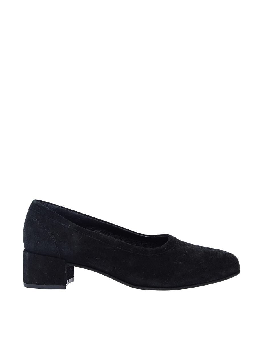 38 Siyah Pavement Düz Ayakkabı Çanta Kadın