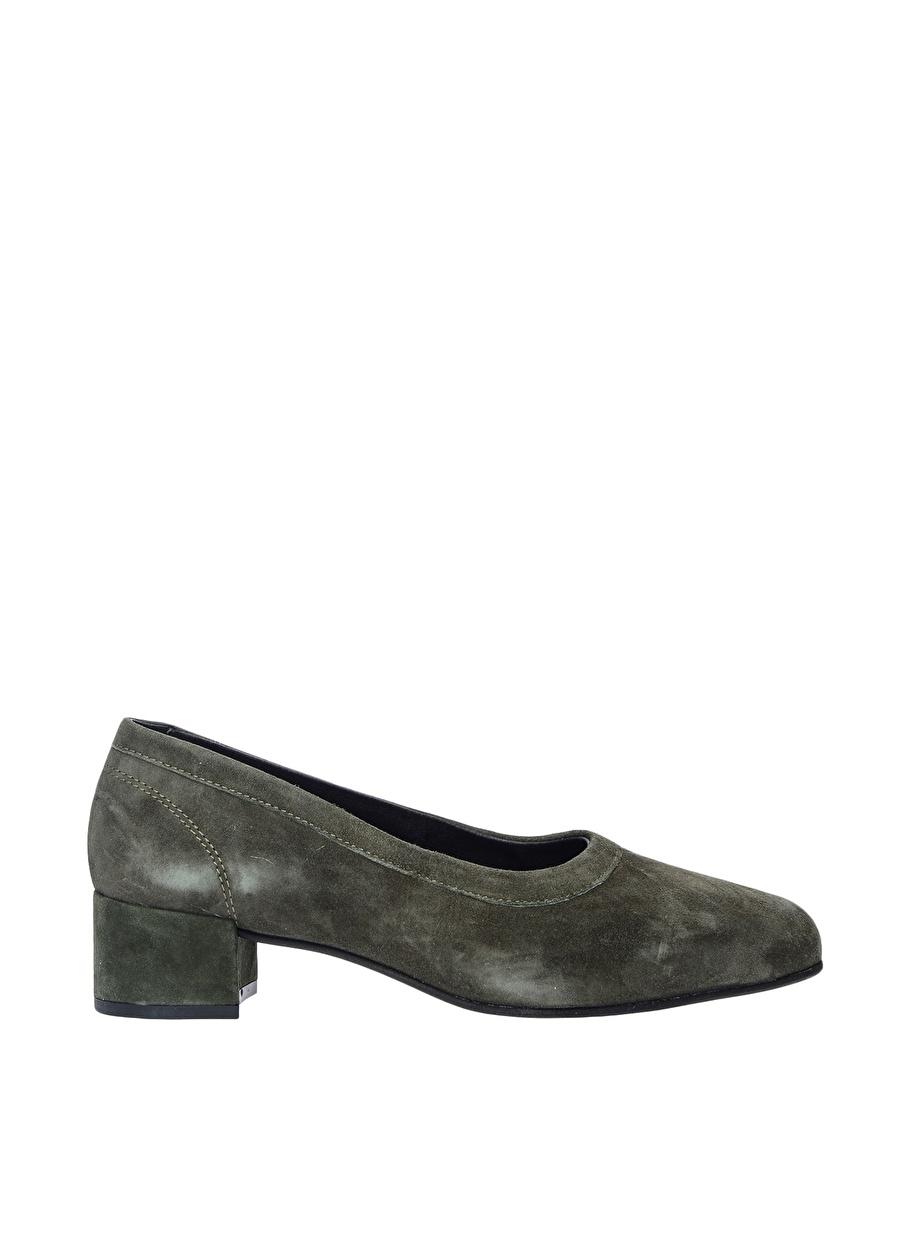 39 Yeşil Pavement Düz Ayakkabı Çanta Kadın