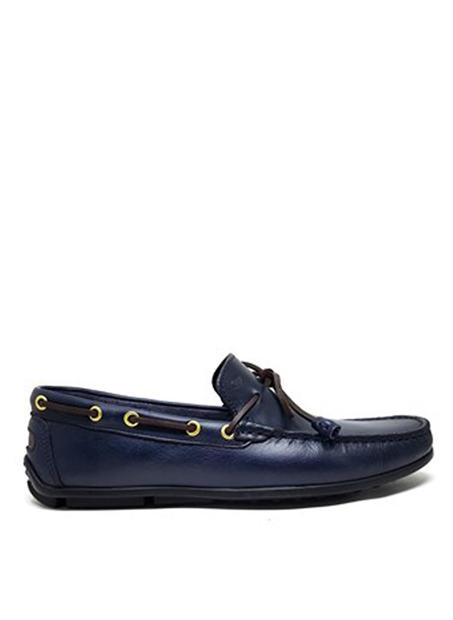 44 Koyu Lacivert Dexter Erkek Klasik Ayakkabı Çanta Günlük