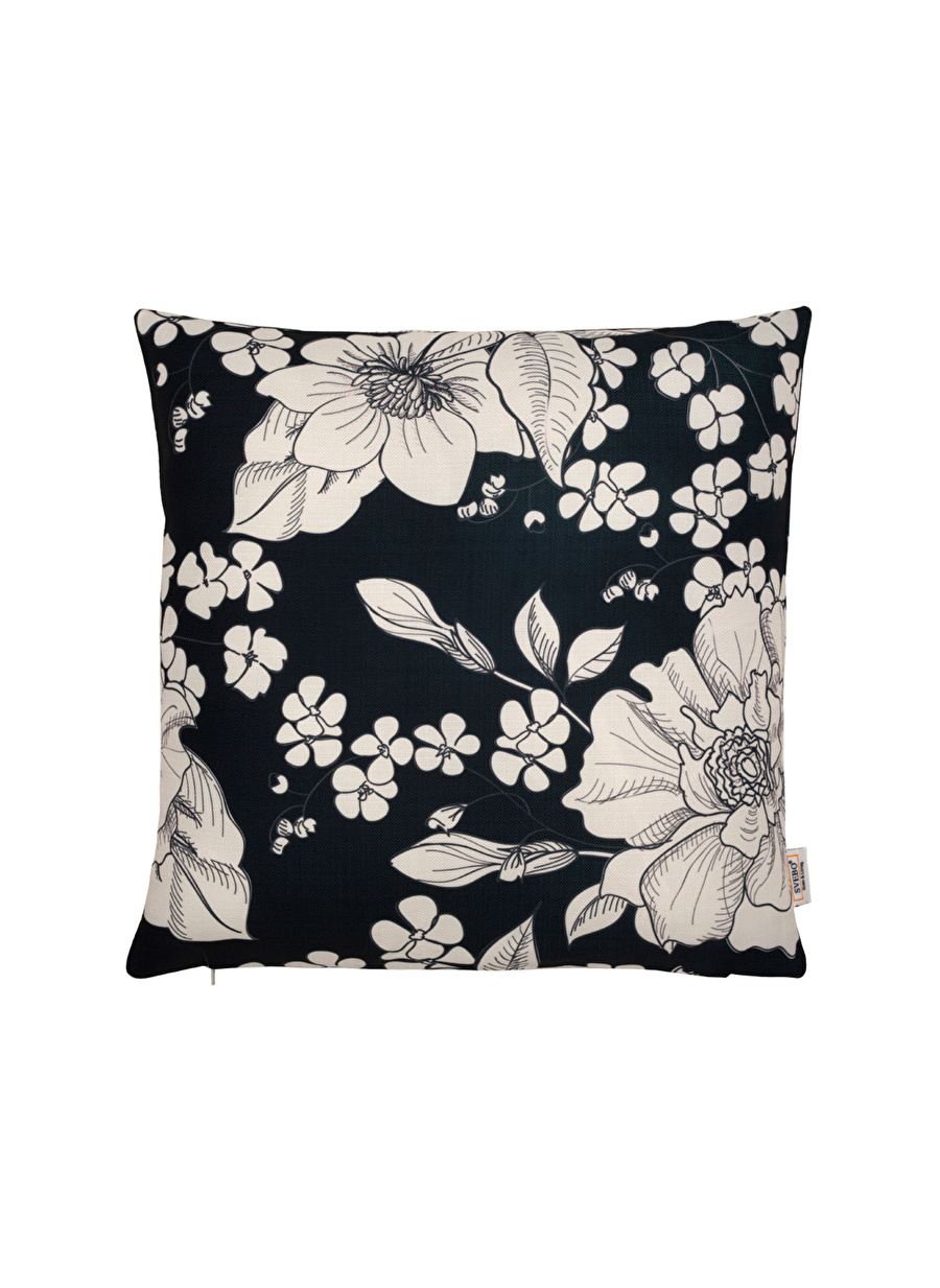 Standart unisex Renksiz Svebo 45x45 cm Çiçek Desenli Yastık Ev Yatak Tekstili Yorgan