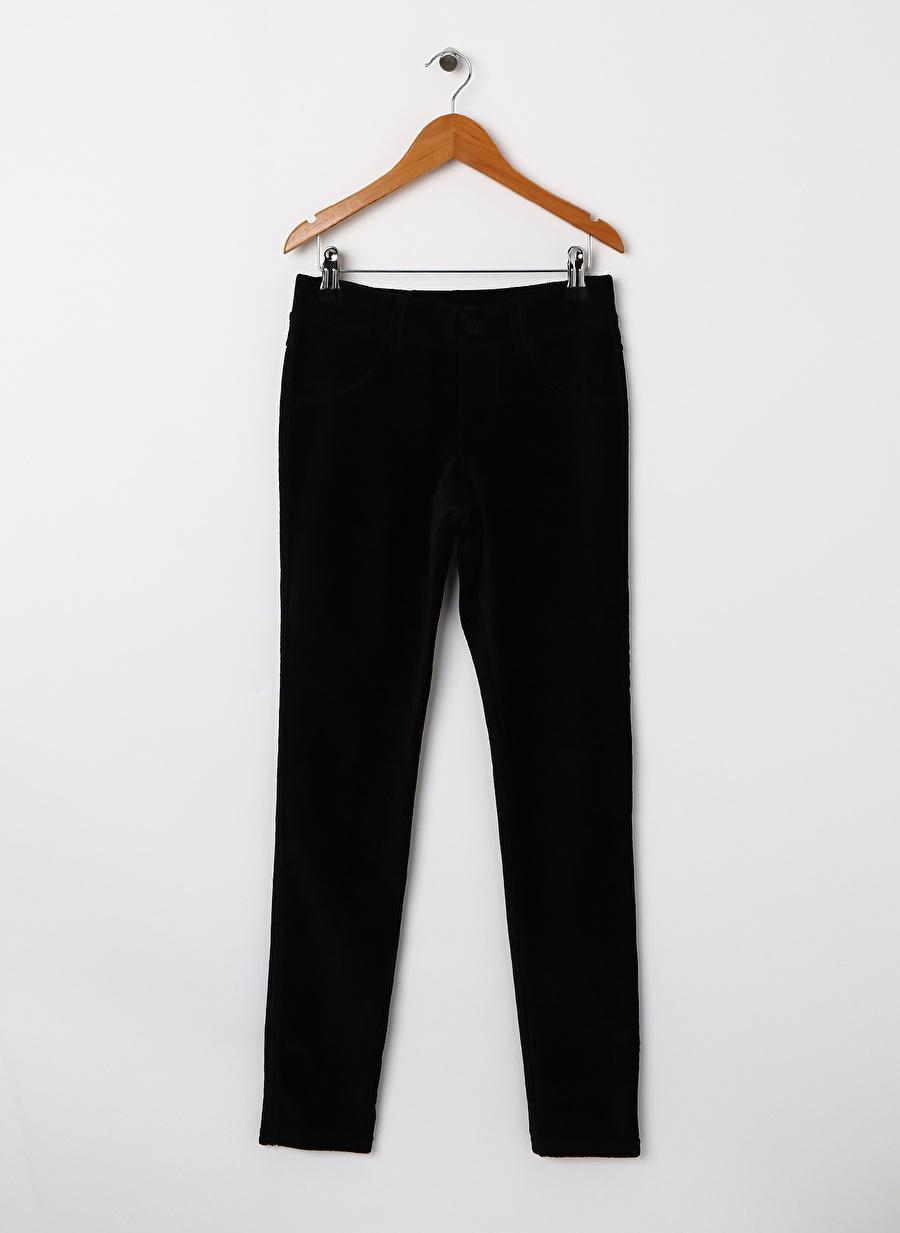 Standart Kadın Siyah Benetton Pantolon Çocuk Bebek Giyim