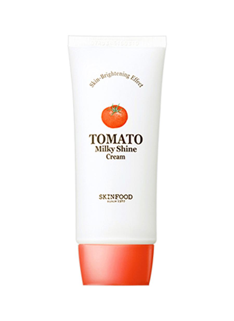 Standart Kadın Renksiz Skinfood Tomato Milky Shine Canlandırıcı Krem Jel Temizleyici Kozmetik Cilt Bakımı Nemlendirici