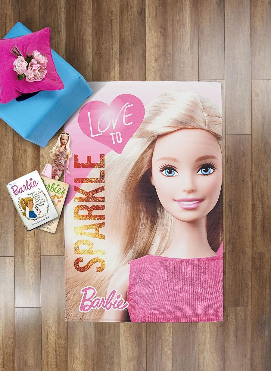 Standart unisex Renksiz Taç 120x180 cm Barbie Sparkle Halı Ev Tekstili